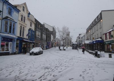 Beast from the east, Market Square, Keswick
