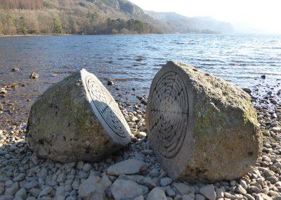 Hundred year stone, Derwentwater, Keswick