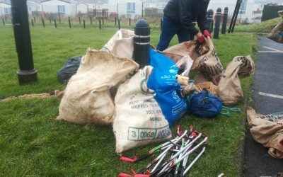 Time for Action                         -Beach clean-